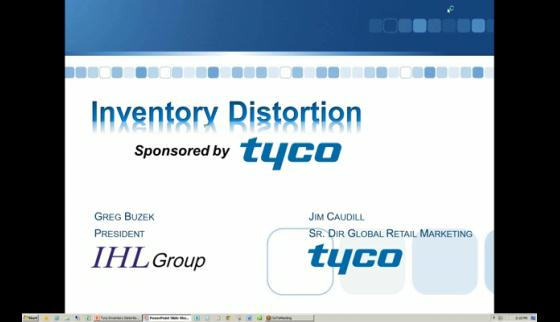 2012 Tyco Inventory Distortion Webinar Recording