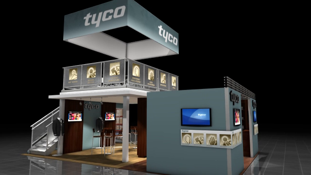 Tyco's NRF 2012 Booth Fly-through