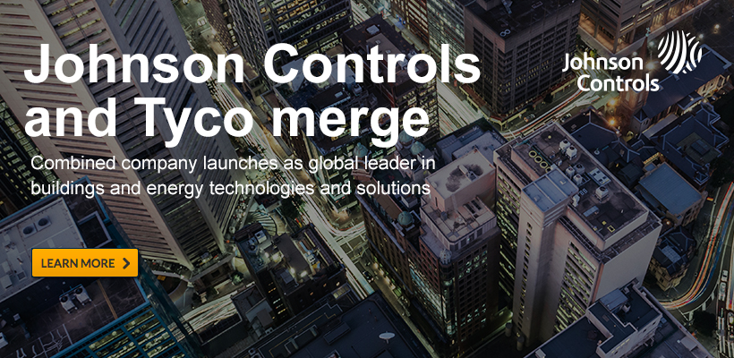 Johnson Controls and Tyco merge