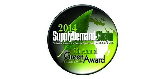 SDCE Green Supply Chain Award logo