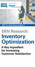 EKN E-Book: Inventory Optimization: A Key Ingredient for Increasing Customer Satisfaction