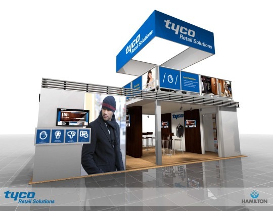 trs booth design for nrf 2013 expo