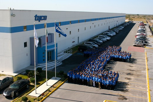 Tyco International de Mexico team
