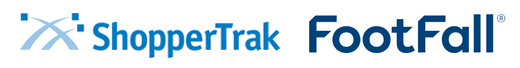 ShopperTrak and FootFall logos
