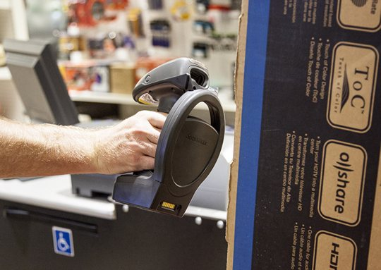 Image result for Use scanners and decrease the transaction time