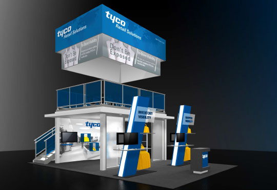 TRS Booth Design for NRF Big Show 2014